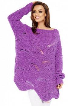 *Lemoniade LS209 sweter fioletowy