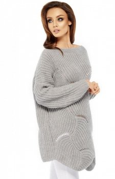 Lemoniade LS209 sweter szary