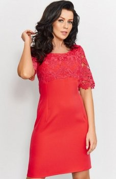 Roco 0205 sukienka czerwona