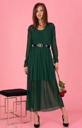 Długa sukienka zielona Mariedam 1405