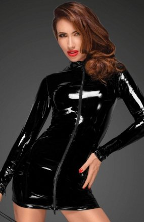 *Noir F187 sukienka dopasowana
