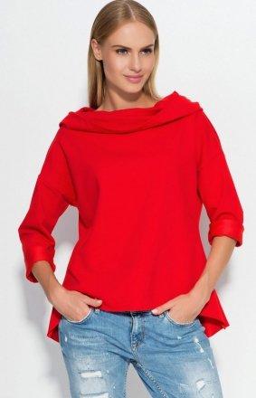 *Makadamia M324 bluza czerwona