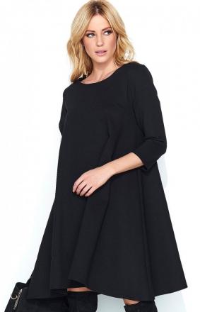 *Makadamia M452 sukienka czarna