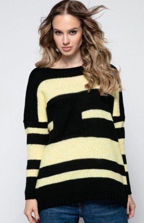 FIMFI I240 sweter czarny