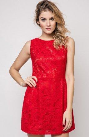 Vera Fashion Sonia sukienka czerwona