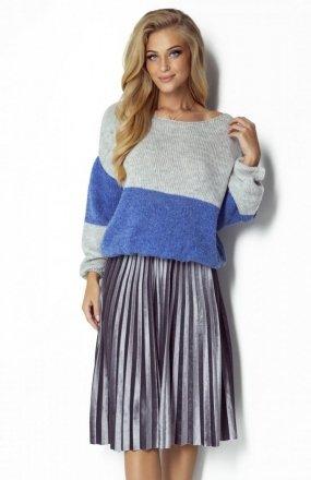 FIMFI I302 sweter lazurowy