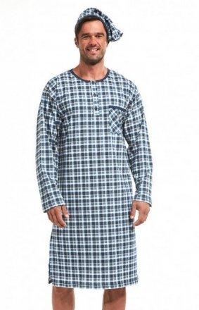 Cornette 110/640104 dł/r S-2XL koszula nocna męska