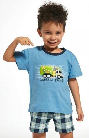 Piżama Cornette Kids Boy 789/69 Garbage Truck 86-128