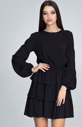 Figl M601 sukienka czarna