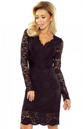 *Numoco 170-1 sukienka czarna