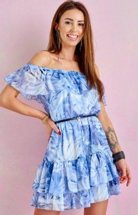 Letnia sukienka hiszpanka 0335/R52