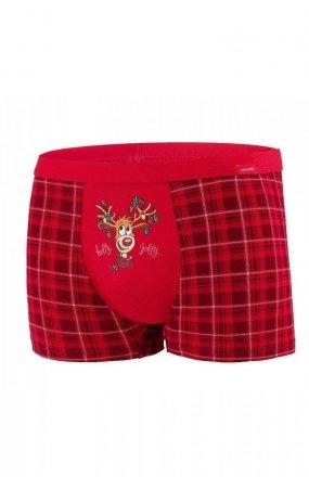 Cornette 007/62 Rudolph Merry Christmas bokserki męskie
