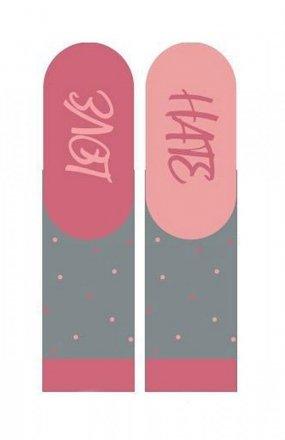 Soxo 3139 Walentynkowe Instrukcje damskie skarpety