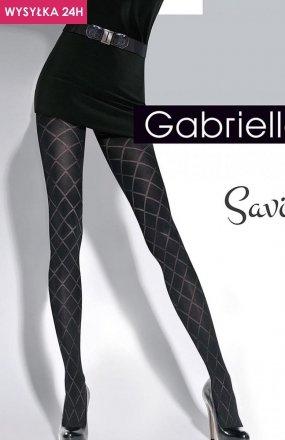Gabriella Savia Code 328 rajstopy wzorzyste