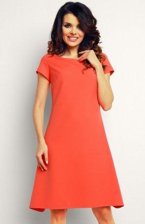 Infinite You M086 sukienka koralowa