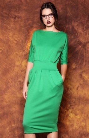 Kasia Miciak design mono sukienka zielona