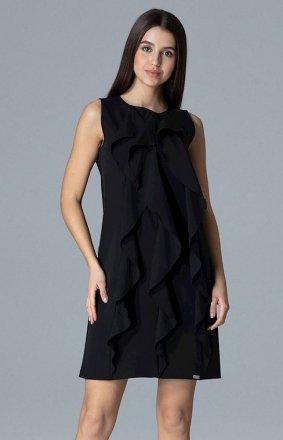 Figl M622 sukienka czarna