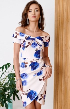 Elegancka ołówkowa sukienka 0248/B12