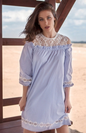 Milena Płatek MP601 sukienka w paski