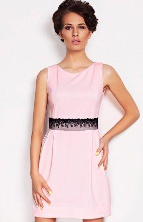Vera Fashion Solange sukienka pudrowy róż