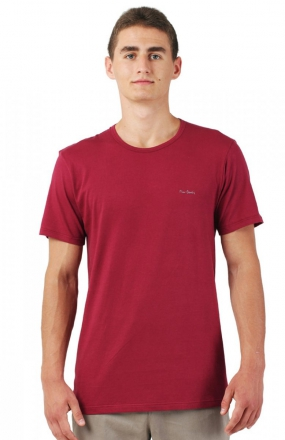 Pierre Cardin R-Neck koszulka bordowy