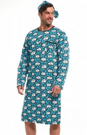 Cornette 110/644501 dł/r M-2XL koszula nocna męska