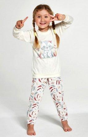 Cornette Kids Girl 594/121 Raccon piżama