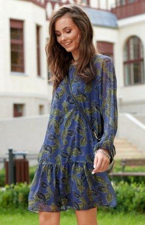 Oversizowa sukienka mini 0299 R92