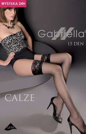 Gabriella Calze 15 Den Code 200 pończochy samonośne
