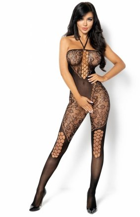 Rebecka czarne bodystocking