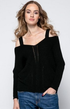 FIMFI I241 sweter czarny