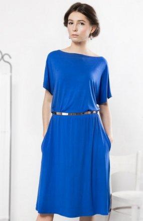 Kasia Miciak design szafirowa sukienka