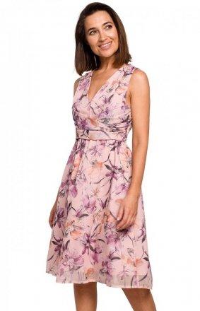 Letnia sukienka w kwiaty S225/2