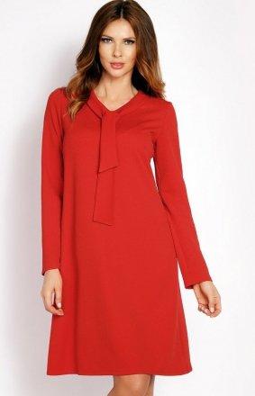 LOU LOU L010 sukienka czerwona