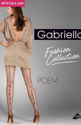 Gabriella Poem code 384 rajstopy wzorzyste