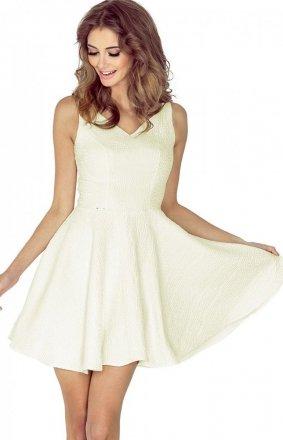 *Morimia 014-6 sukienka ecru