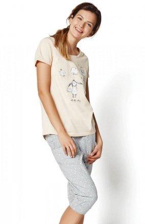 Henderson Ladies Piżama Rakel 35255-03X Pastelowy róż