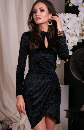 Wieczorowa sukienka z połyskiem 264