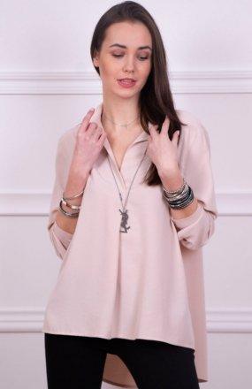 Roco 0051 koszula oversize beżowa
