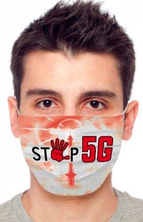 Maseczka ochronna stop 5G