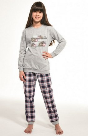 Cornette Young Girl 592/117 Koala dł/r 134-164 piżama dziewczęca