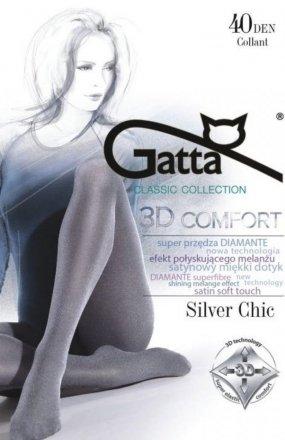 Gatta Rajstopy Silver Chic