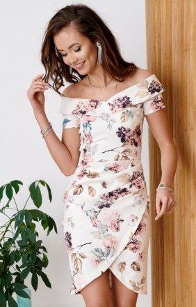 *Elegancka ołówkowa sukienka 0248/B10
