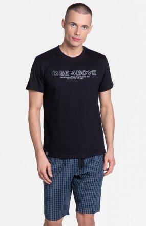 Henderson Dojo 38883-99X piżama czarno-granatowa