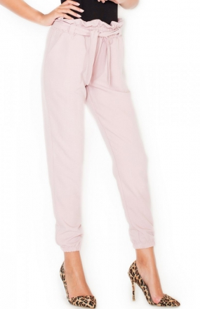 Katrus K296 spodnie róż