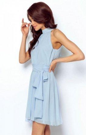 Ivon Livia sukienka niebieska