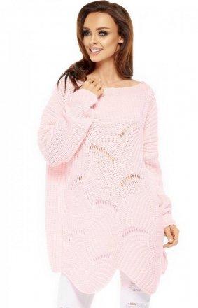 *Lemoniade LS209 sweter pudrowy róż