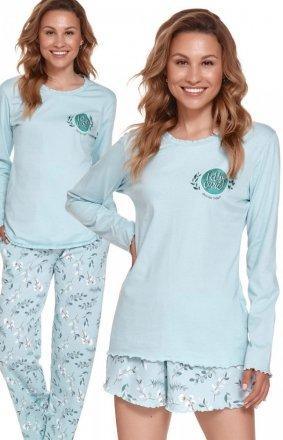 Doctor Nap PMT.4354 3-częściowa piżama damska