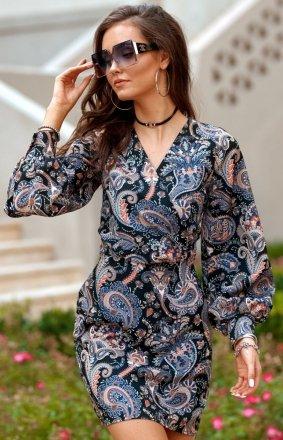 Elegancka sukienka mini 0301/B16