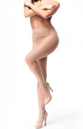MissO P201 seksowne rajstopy z wycięciem